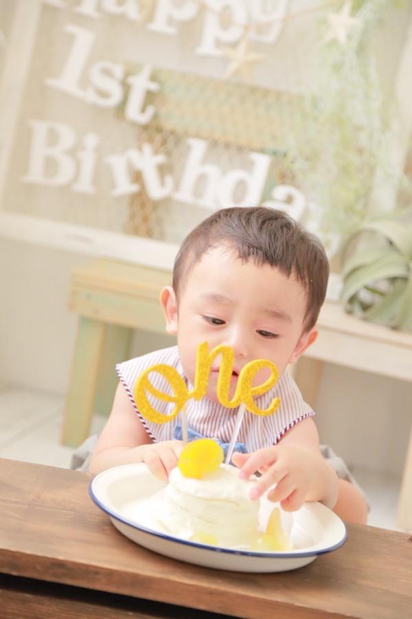 1歳のお誕生日ならスマッシュケーキ!